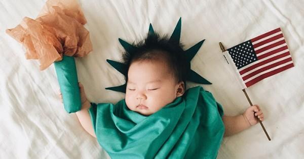 התינוקת המחופשת שהפכה לכוכבת רשת ללא ידיעתה