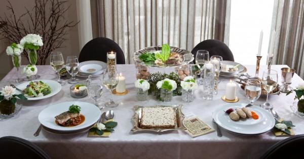 שולחן חג קלאסי: חריימה בורי וסלט ערוגות עם טוויסט