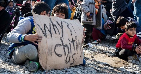 כך נראית הבריחה הגדולה מסוריה