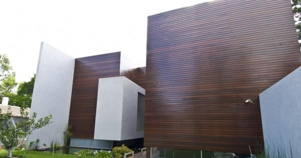 כמו באמריקה: בית של עץ ובטון