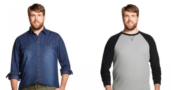 לראשונה בעולם האופנה: דוגמן למידות גדולות