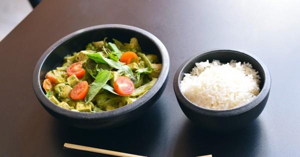 מתכון לתבשיל קארי ירוק טבעוני