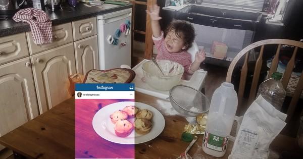 הורים חושפים את האמת מאחורי תמונות האינסטגרם