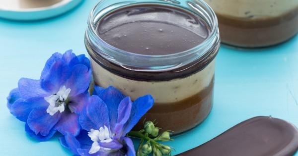 מוס שוקולד בצנצנת