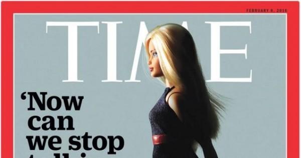 תמונת היום: בובת ברבי על שער מגזין הטיים
