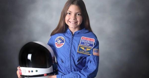 אליסיה קרסון: אסטרונאוטית בת 13