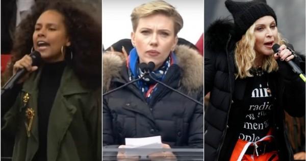 8 ציטוטים בלתי נשכחים מעצרת הנשים נגד טראמפ