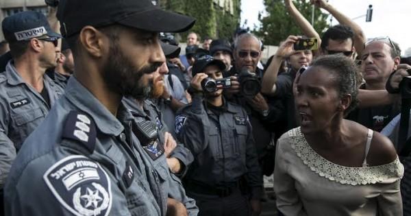 מחאת האתיופים איננה אלימות