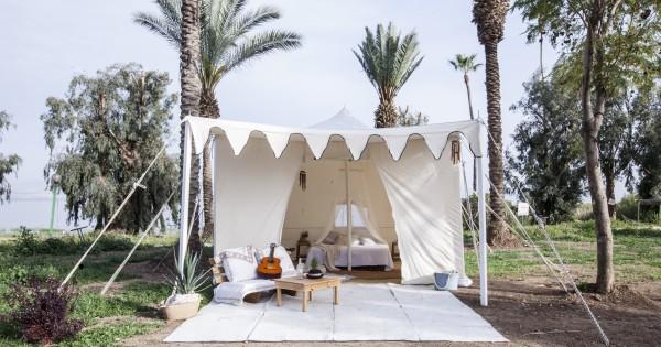 מתחמי אוהלים לכל המשפחה