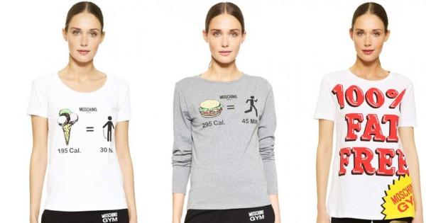 מוסקינו מציג: חולצות שמעודדות הפרעות אכילה