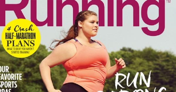 האישה המלאה הראשונה על שער של מגזין ספורט