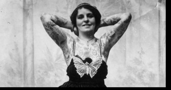 תיעוד נדיר של נשים מקועקעות לאורך מאות שנים