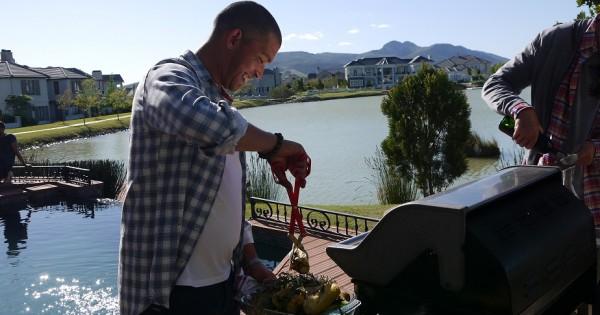 רובן ריפל: ראיון עם השף הסלבריטאי של דרום אפריקה