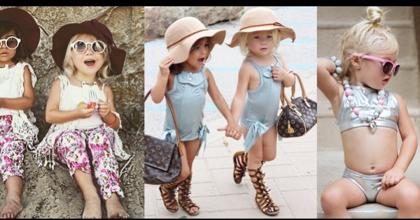 אייקוני האופנה החדשים: פעוטות מתחת לגיל 5
