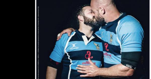 נשיקת הספורטאים שהרתיחה את האיטלקים