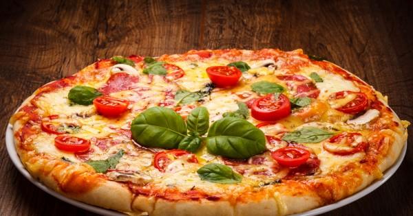 להכין פיצה עם הילדים.איך זה כבר יכול להסתיים?