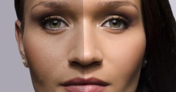 נשים ממוצעות עוברות ריטוש של סלבריטאיות