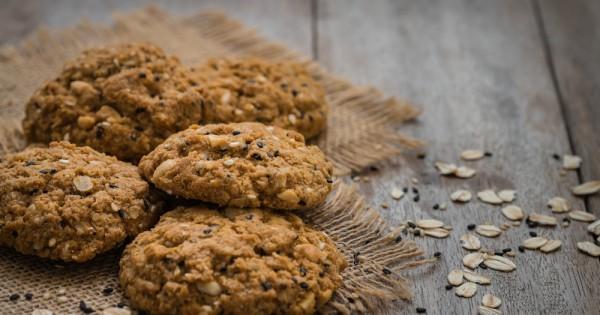 עוגיות גרנולה: ללא סוכר וללא גלוטן
