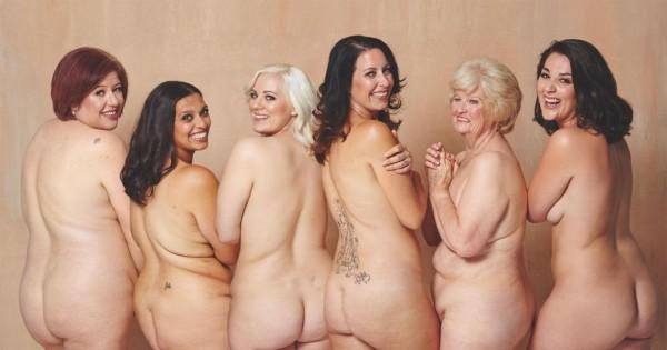 שומרי משקל מקדמים דימוי גוף חיובי באמצעות תמונות עירום