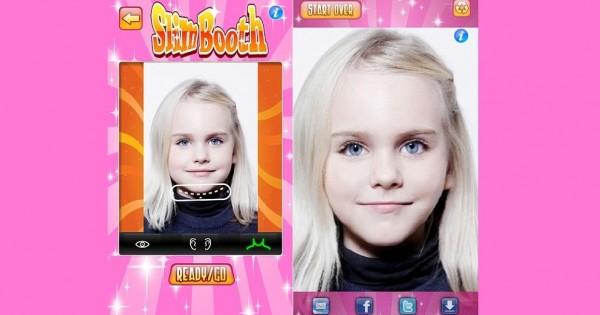 האפליקציה שגורמת לילדים להיראות רזים יותר