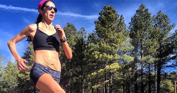 האצנית האולימפית שפרסמה תמונות שלה לאחר ההיריון כדי להקל על נשים אחרות