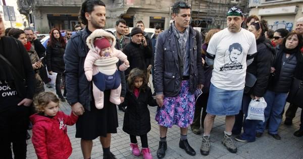 מחאת החצאיות של גברי טורקיה