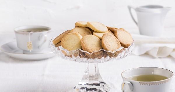 עוגיות חמאה קלאסיות ללא סוכר