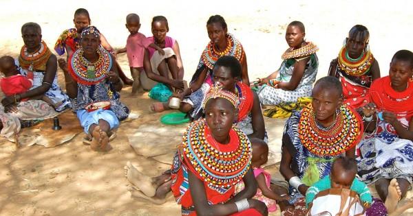 קניה: כפר ללא גברים
