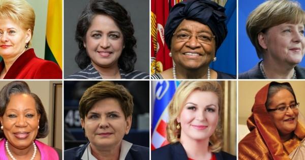 17 הנשים שמנהלות את העולם
