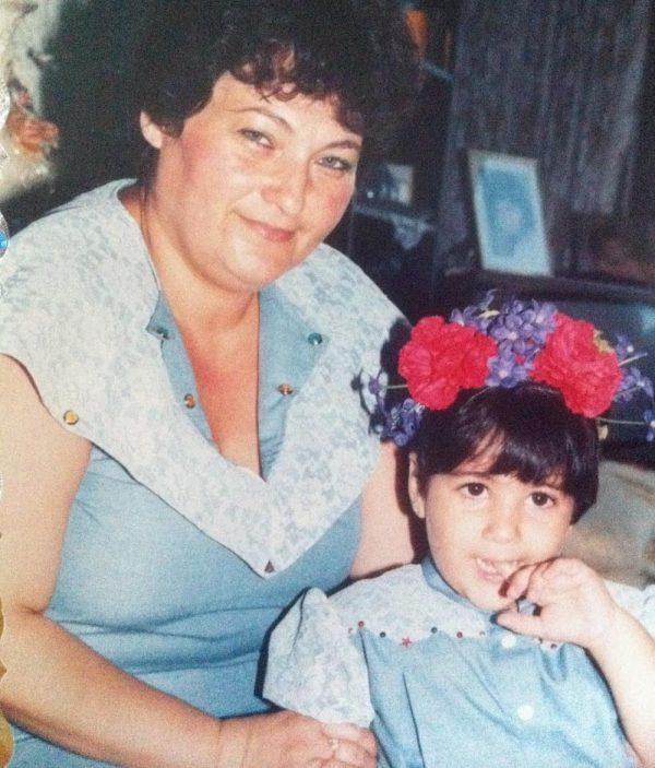אור ואמא. מתוך האלבום המשפחתי