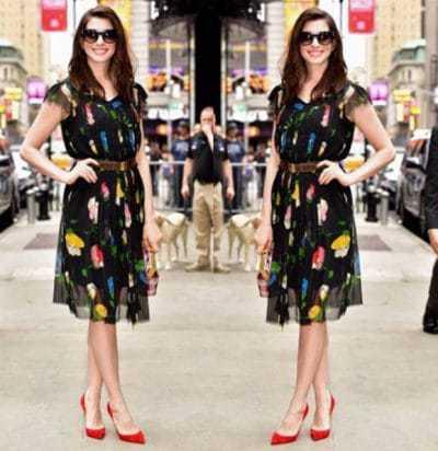 אן התוואי בשמלה משוק הפשפשים