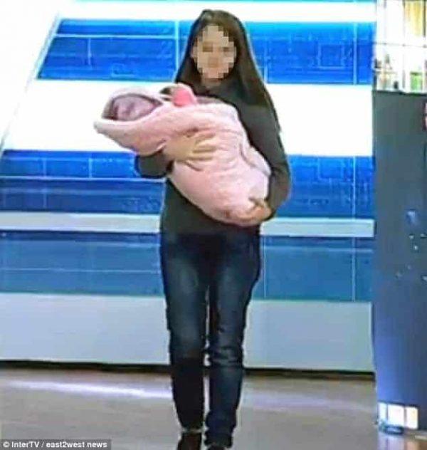 טניה לוצ'ישין ובתה
