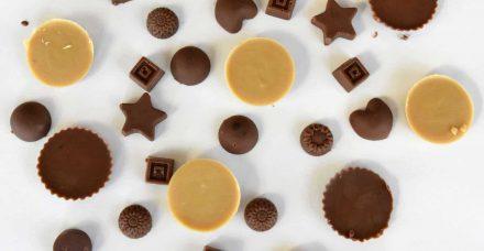 איך להכין פרלינים של שוקולד בבית