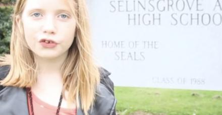 הילדה ליסיאק: עיתונאית, סופרת, יזמית ופעילה חברתית בת 11