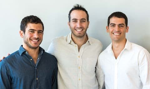 המייסדים: איתי זלוטניק, שמעון אלקבץ ורעי גופר