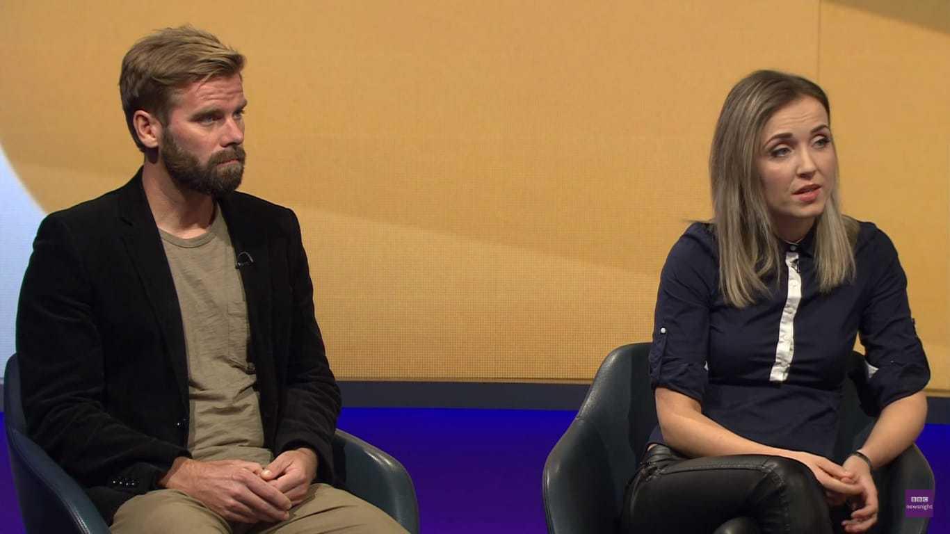 אלווה וסטריינג'ר בראיון ל-BBC