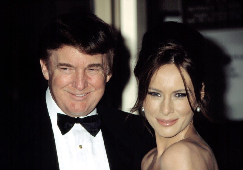 טראמפ ומלניה, 2003. צילום: Shutterstock