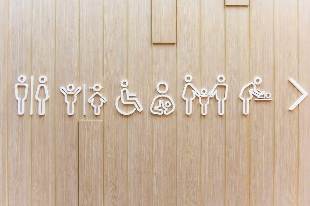 שירותים ציבוריים. צילום: Shutterstock