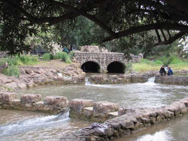 פעילות חנוכה בפארק הירדן