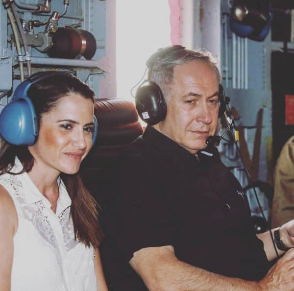 דנה סומברג עם נתניהו בסיור בטחוני בדרום הר חברון