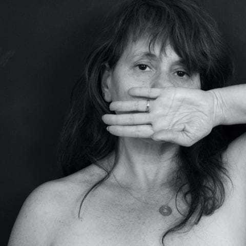 אליסיה שחף, מתוך התערוכה 'מחאה נשית'