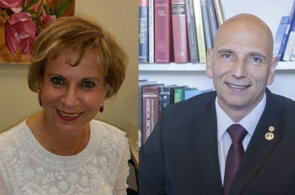 פרופ' אילן גריוונלד ופרופ' זיו בן ארי
