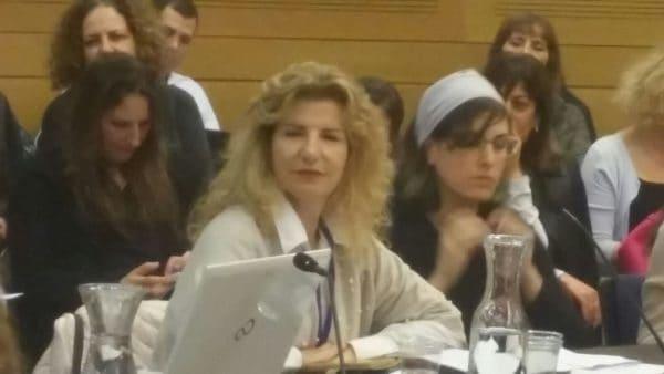 הדיון בוועדה לקידום מעמד האישה ושיוויון מגדרי