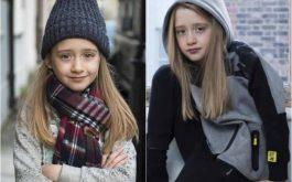 הילדה בת ה-7 שרוצה לדגמן עבור זארה בנים