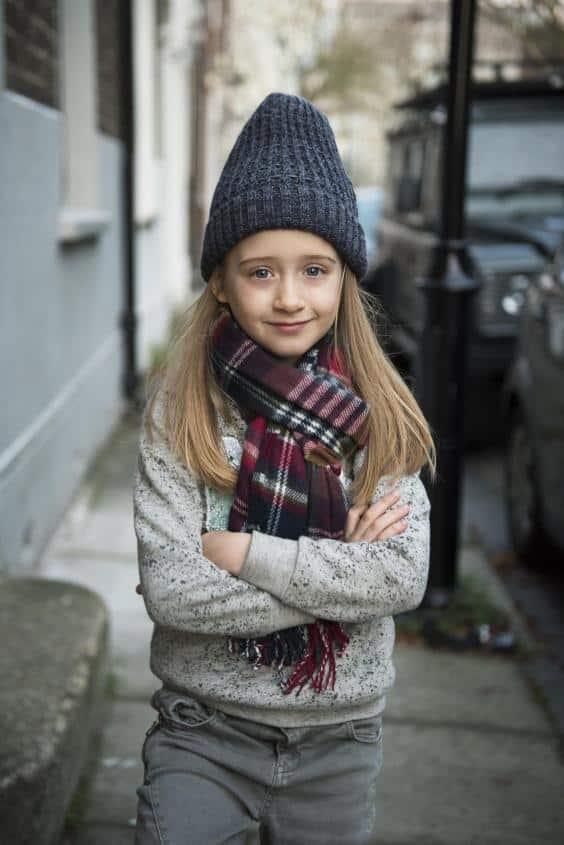 בת ה-7 שרוצה לדגמן עבור זארה בנים
