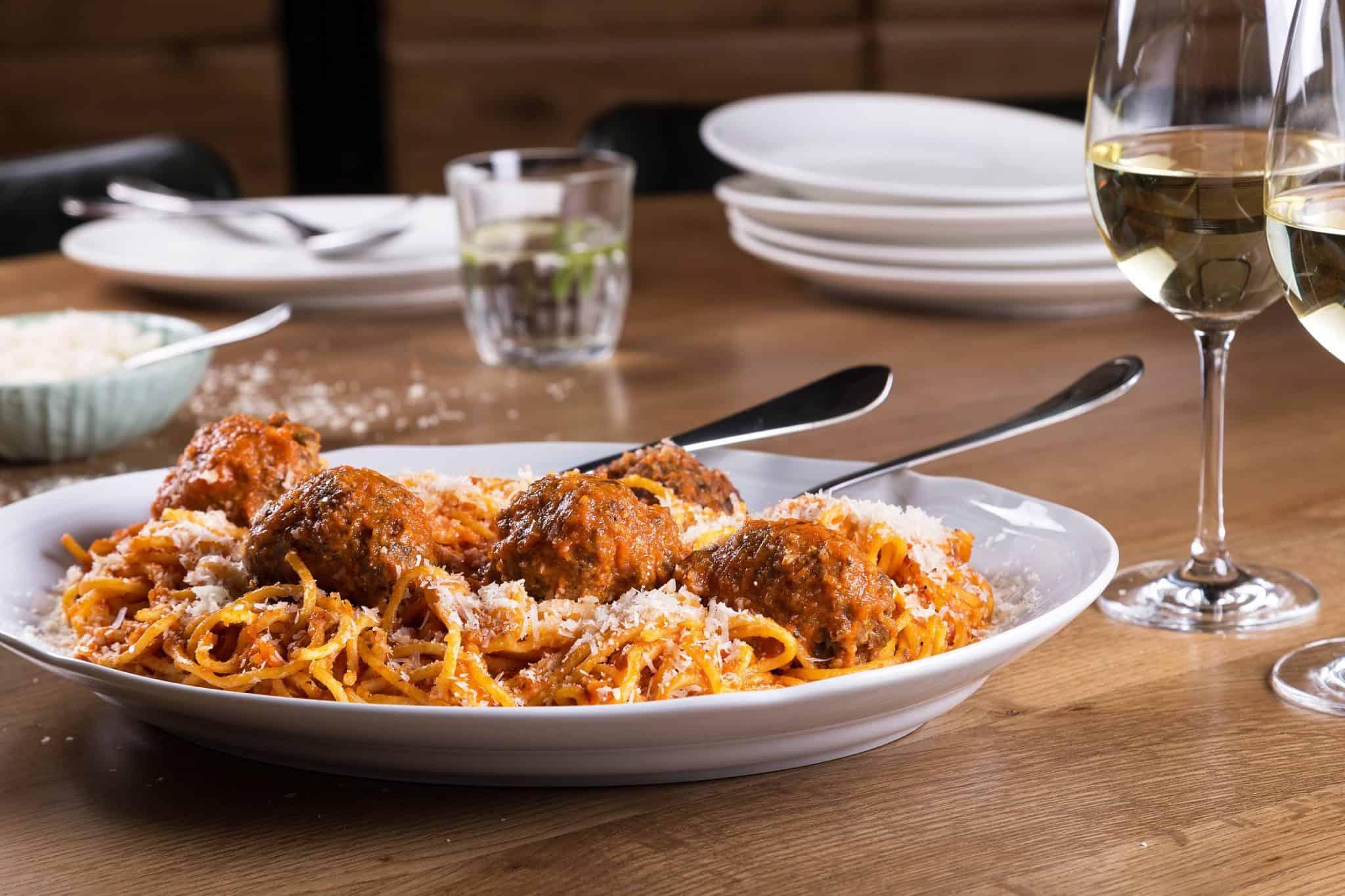 ספגטי מיטבולס בטיטו. צילום: שרית גופן