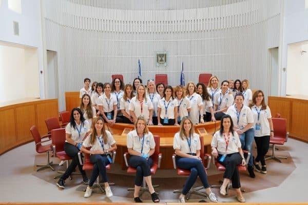 משלחת הנשים. צילום: שחר עזרן