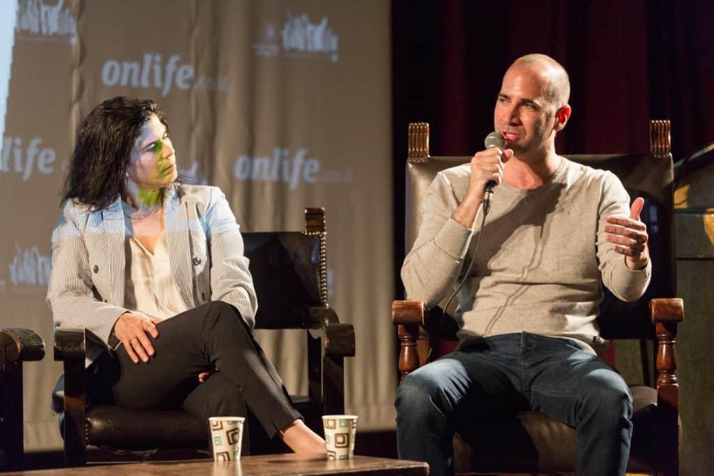 ערן גפן ויעל ארד. צילום: בני גם זו לטובה