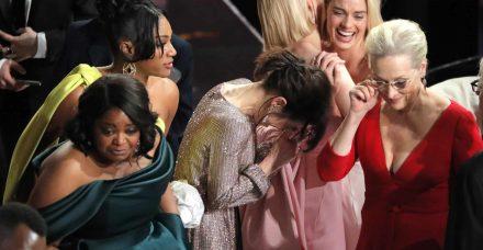 טקס האוסקר 2018: המטרידן נשאר על השטיח האדום, כולנו נשארנו מאחור