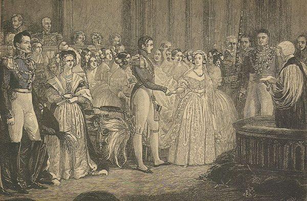 החתונה של ויקטוריה ואלברט